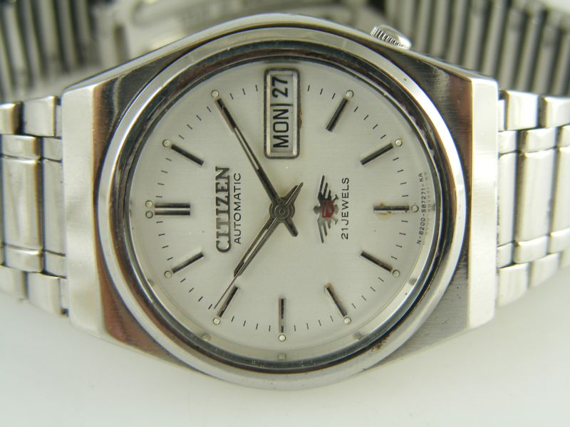 đồng hồ citizen automatic 21 jewels